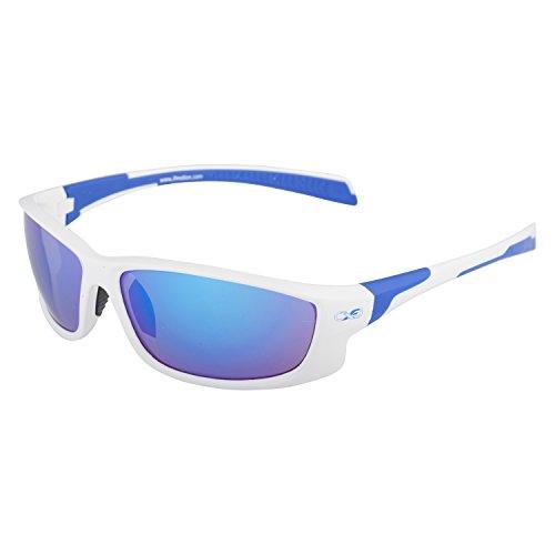 Infinite Eins Sportbrille Weiß & Blau