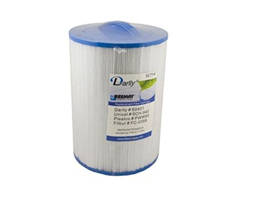 2 x PWW50 Filters 6CH-940 Hot Tub Filters