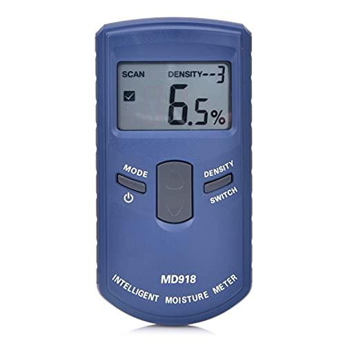 ywlanlantrading umidità Meter Strumenti di Misura Misuratore di umidità del Legno induttivo 4% ~ 80% dell'albero Digitale dell'albero Digitale delle Onde elettromagnetiche del Tester di umidità