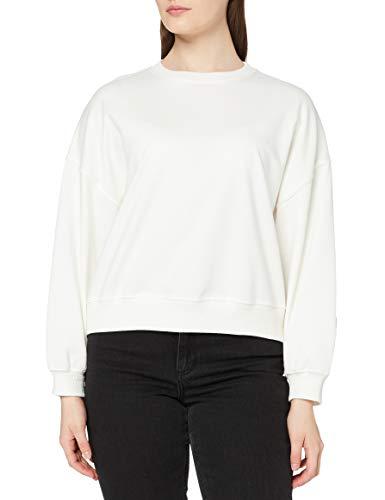 Marchio Amazon - find. Vestito Vestibilità Larga Donna, Avorio (Off White Off White), 44, Label: M