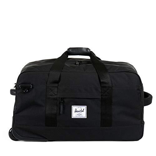 Herschel Wheelie Outfitter Travel Koffer, 1 Liter, Schwarz