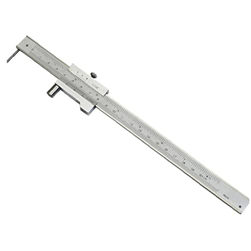 Marcado vernier de acero inoxidable paralelo 0-200mm herramienta de medición Calibre cruzado de laboratorio de la escuela Joiner Carpintero