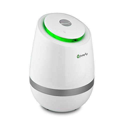 GreenTech Environmental Purificatore d'aria per camera da letto, soggiorno, cucina in un bel design 500 bianca