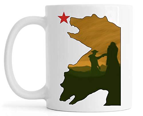 California Dos Osos Lustroso Cerámica Taza Mug Glossy Mug Cup