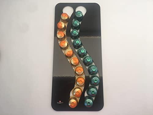 Dispenser di 20 capsule caffè (Nespresso) (nero)