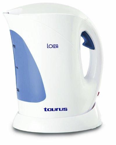Taurus 958155 Bouilloire 2200 W 1,7 L Anti-calcaire Blanche