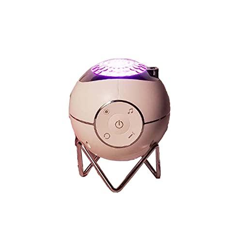 Lámpara de proyección de planetas, ambiente de dormitorio, luz nocturna, mando a distancia inalámbrico láser, cielo estrellado, luz de proyección con altavoz Bluetooth