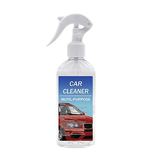 BestSiller Limpiador de interior de espuma multiusos para coche, spray de limpieza universal de cuero, agente de limpieza de sofá para alfombras de coche, 100 ml