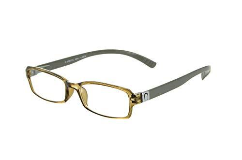 Edison & King - Leesbril die omgehangen kan worden – Leeshulp met extra lange, sterk gebogen pootjes