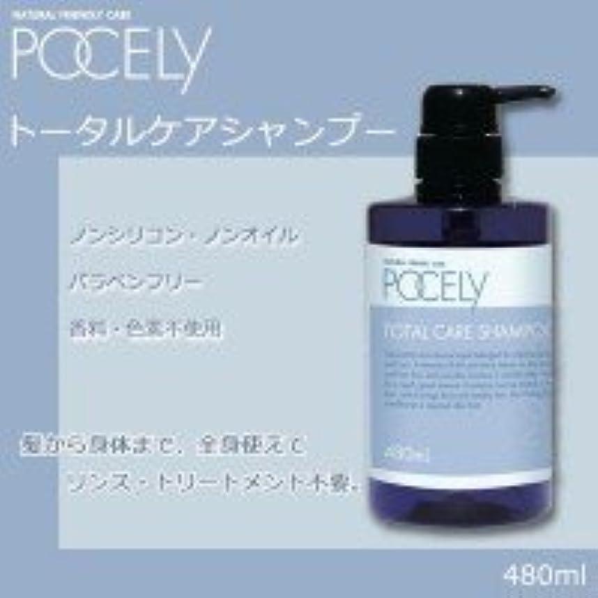 メニュー判定マーチャンダイザー皮膚医学に基づいて開発! POCELY(ポーセリー) トータルケアシャンプー480ml