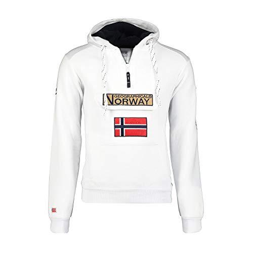 Geographical Norway - Sudadera para Hombre Blanco XXL