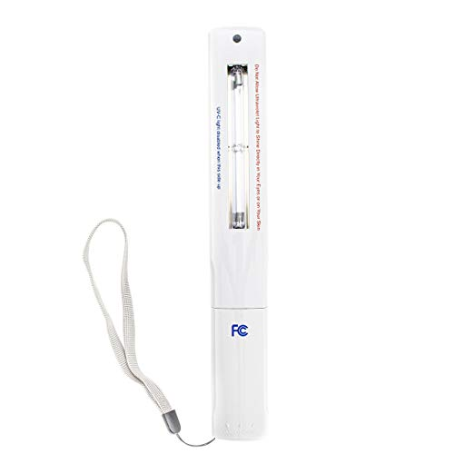 Verilux CleanWave Portable Sanitizing Travel Wand - UV-C Technology - Kills Germs and Bacteria