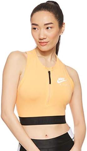 Nike Sportswear Crop Top Naranja para Mujer