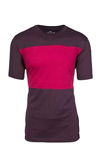 NIKE T-Shirt 2019/20, Camiseta, Hombre, Burdeos, M