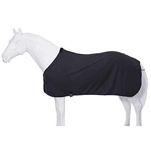 Tough 1 Soft Fleece Blanket Liner/Sheet, Black, Large