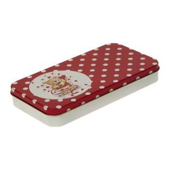 Box Dose für große Slipeinlagen für die Handtasche mit Scharnierdeckel 195 x 105 x 27mm