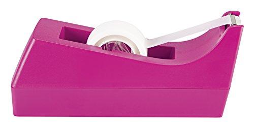 Scotch Classic Desktop Tape Dispenser, Pink, for 1-Inch Core Tapes (C-38-P)