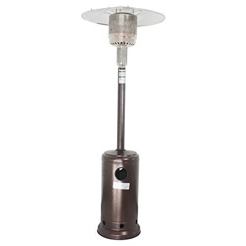 L-ELEGANT Exterior de Gas Chimenea de Patio terraza,Inoxidable Moderno Estable Radiador de Exteriores,Radiador Calentamiento Rápido Ahorro de Energía-B (Gas Natural) 224cm(88in)