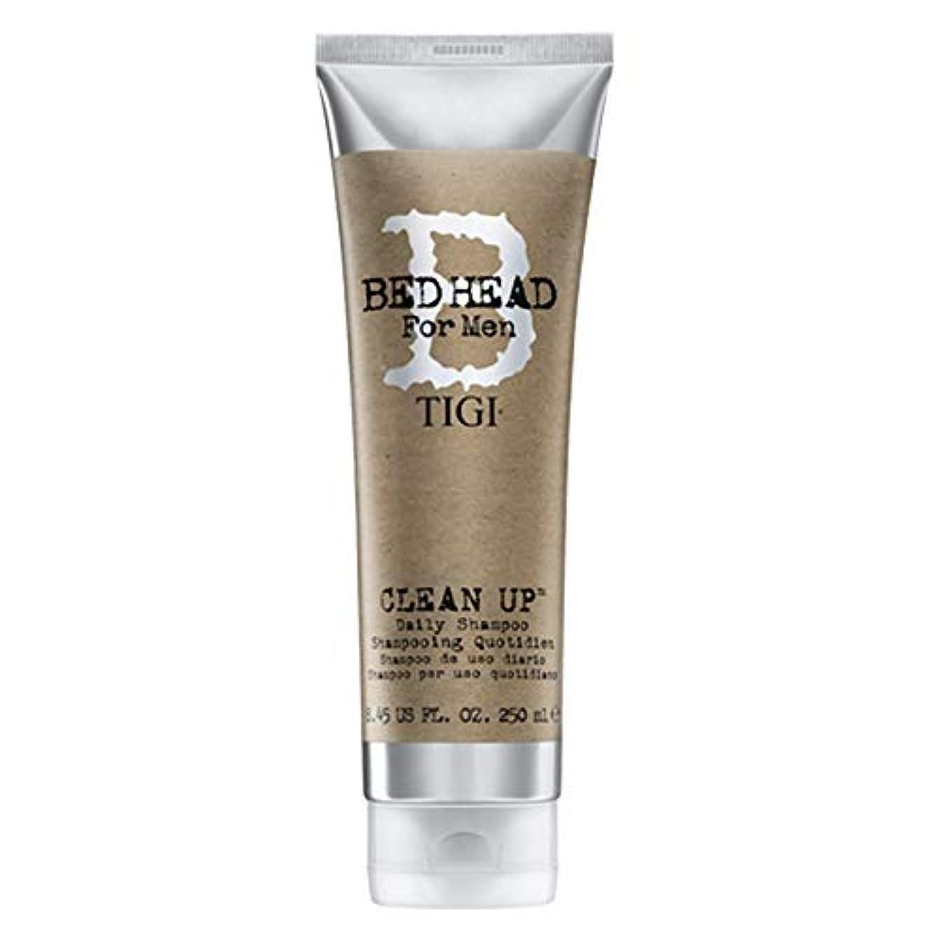 パパヘッドレスキルスティジー Bed Head B For Men Clean Up Daily Shampoo (New Packaging) 250ml/8.45oz並行輸入品