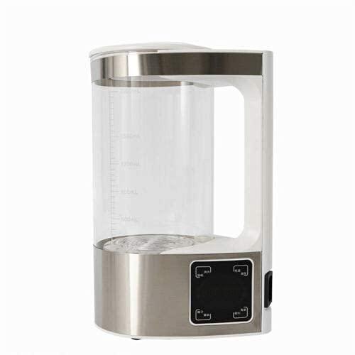 Purificador de aire de ácido alcalino, 2 L, filtro de agua, hervidor de agua para agua potable natural purificada, alcalina ionizada