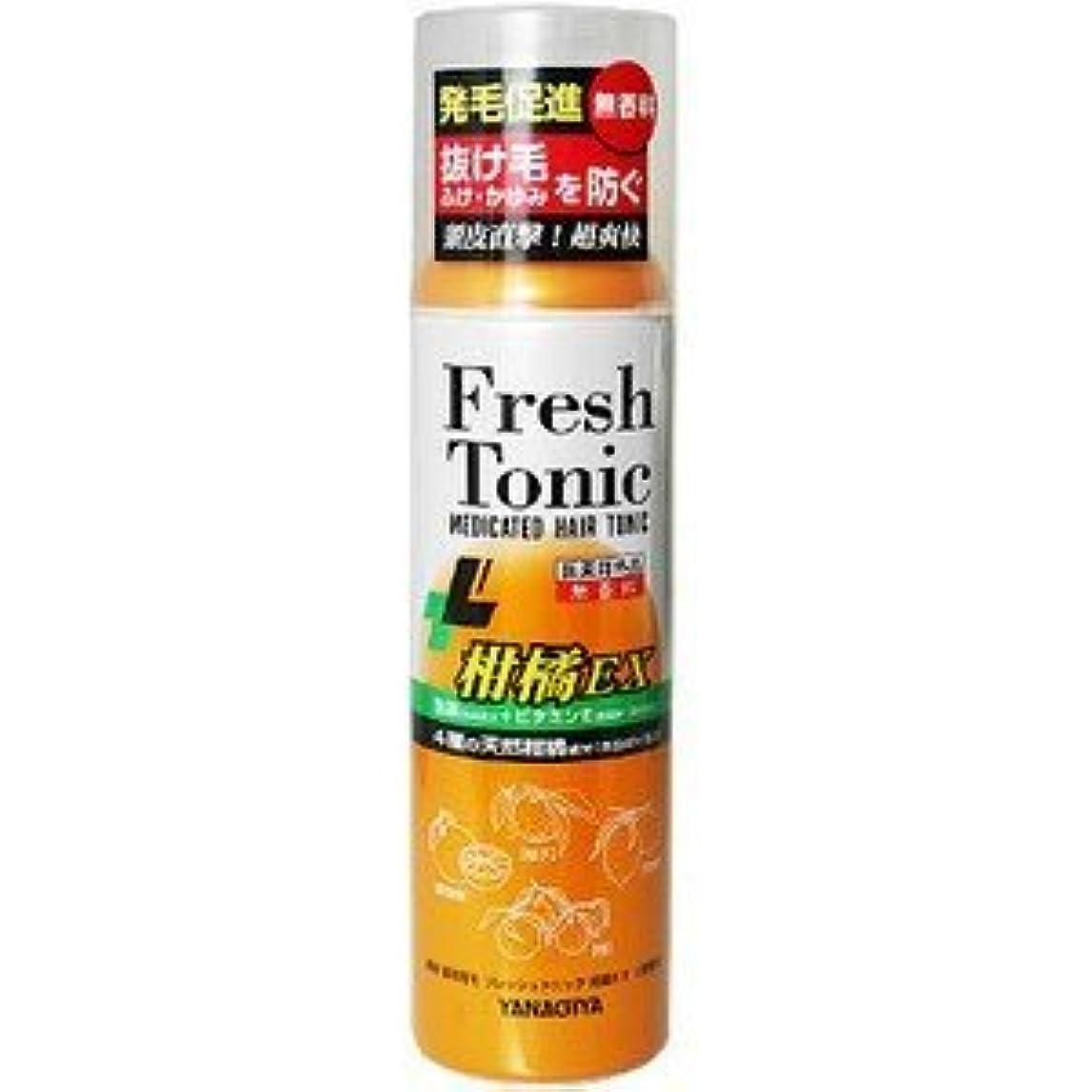 【柳屋本店】薬用育毛 フレッシュトニック 柑橘EX 無香料 190g(医薬部外品)