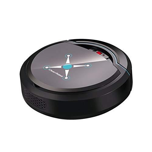 Gaocunh Robot Aspirador, Aspirador robótico, navegación Plana, batería de Litio incorporada, Carga USB, Ideal...