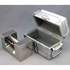 村上衡器 ステンレス製 まくら型分銅(ケース入り) F1級 + JCSS質量校正ランク3 5kg