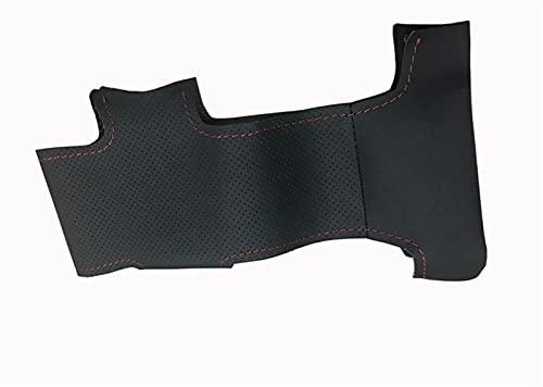 JHGJHG Cubierta de Volante de Coche Negro (Color Name : Black Thread)
