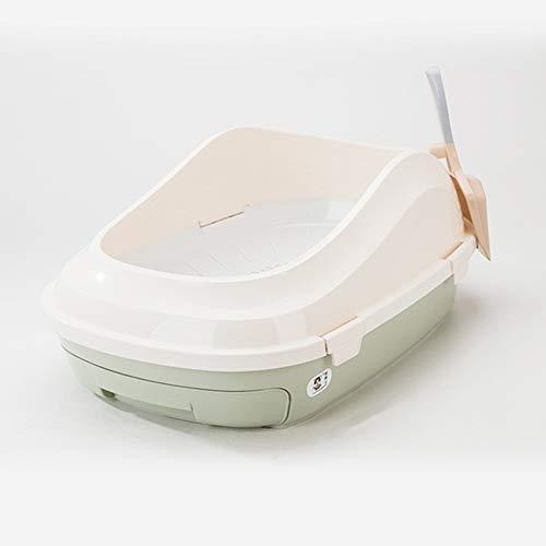 RRCT-Cat toiletkattenbak met scheidingssysteem, 39 x 22 x 59 cm, ladekast voor toiletkatten, 2