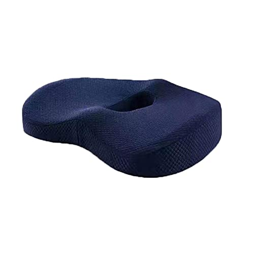 Chair Cushion Back Cushion Seat Cushions - Memory Foam Hemorrhoid Seat Cushion Hip Support Pedic Pillow Coccyx Office Chair Cushion Car Seat Wheelchair Massage Pillow Comfortable Durable