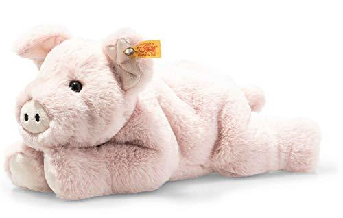 Steiff Soft Cuddly Friends Piko Schwein-28 cm-Kuscheltier für Kinder-weich & kuschelig-waschbar-rosa (063978)