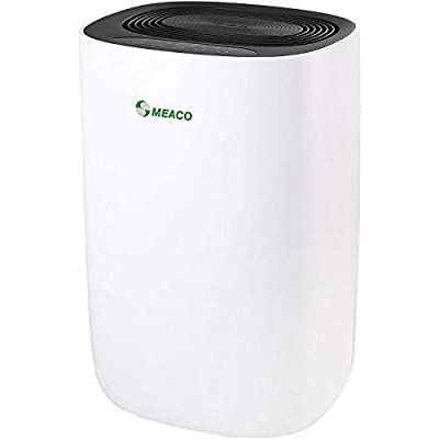 Meaco MeacoDry Dehumidifier - Ultra-Quiet, Energy Efficient, Laundry Mode, Auto-Off, Auto De-Frost - Ideal for Damp and Condensation in The Home
