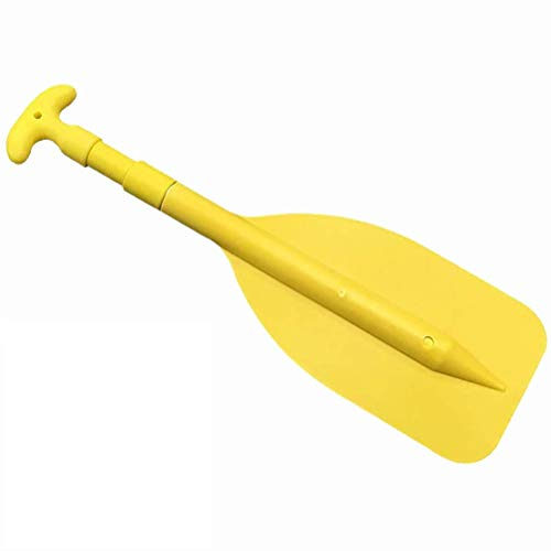 WBTY Remo telescópico ajustable, remo de kayak portátil, ligero, remo de kayak, aleación de aluminio, remos largos reforzados para kayak, canoa, barco inflable al aire libre