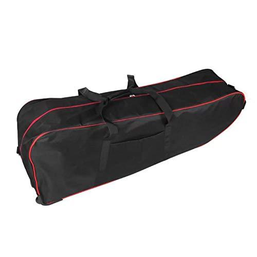 YIJUE E-Scooter Bag Aufbewahrung Transporttasche Übergroße Scooter-Tragetasche für 10 Zoll Klapproller Oxford Aufbewahrungstasche Große Reisetasche mit Rädern
