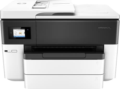 HP Officejet Pro 7740 - Impresora multifunción tinta, color, Wi-Fi, Ethernet (G5J38A)