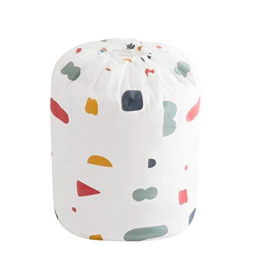 Quyi - Bolsa de almacenamiento de ropa de gran capacidad, bolsa de almacenamiento con cordón para edredones, mantas, ropa de cama