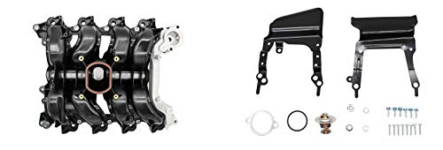Forrie Upper Plastic Intake Manifold w/Gaskets 615-178 Compatible with 4.6L 96-00 Ford Crown Victoria, 96-97 Cougar, 96-00 Mercury Grand Marquis, 96-98 Mustang, 96-97 Thunderbird, 96-00 Town Car