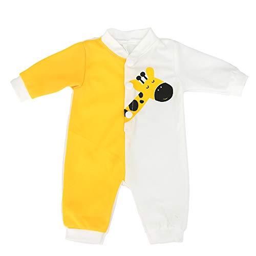 ZWOOS Puppenkleidung für New Born Babypuppen, Giraffe Strampler für Puppen 40-45 cm