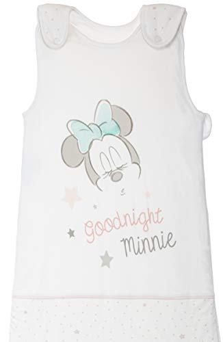 Baby Schlafsack Ganzjahresschlafsack Jersey-Baumwolle mit Motiven im Stil von Minnie Mouse 18-48 Monate ca. 110x45 cm TOG 2,5