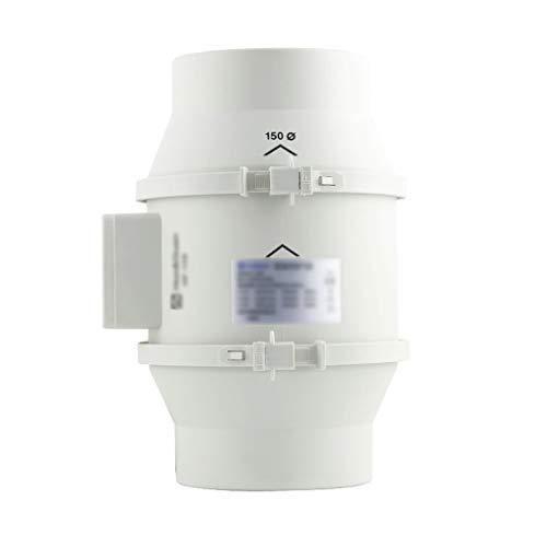 QIQIDEDIAN Ventilador de Carretera 150 Cocina Potente Extractor silencioso baño doméstico presurizado Extractor Ventilador de ventilación de 6 Pulgadas