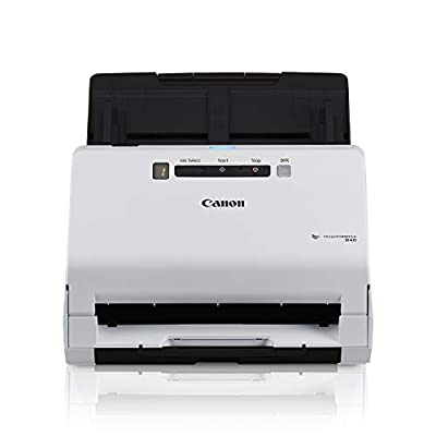 Canon ImageFORMULA R40 Office Document Scanner For PC and Mac, Color Duplex Scanning, Easy Setup For Office Or Home Use, Includes Scanning Software from Canon