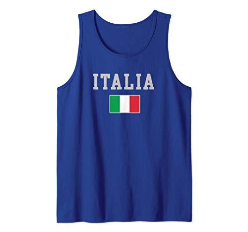 Bandera de la herencia de Italia Amor de Italia italiana Camiseta sin...