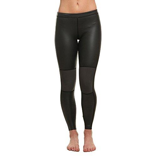 BILLABONG Damen Skinny 1MM Neoprenanzug Sea Legs Schwarz - 100% Neopren - Geklebt & Blind genäht