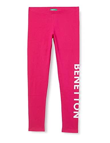 United Colors of Benetton Leggings 3MT1I0989, Fucsia 2l3, M para Niñas