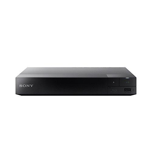 SONY Blu-ray-Player BDP-S3500, ohne Kodierung, Smart WiFi ICOS Blu-ray Zonen A, B und C, DVD Regionen 1 – 8. Full HD 1080p DLNA Youtube, Netflix usw. HDMI- und Koaxial-Audio-Ausgang