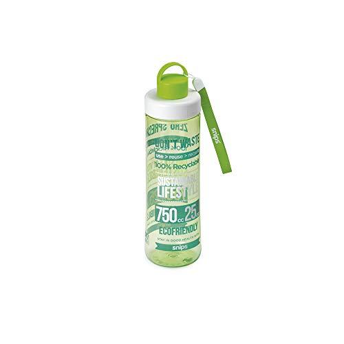 SNIPS 78032 Tritan Eco Bouteille Vert 0,75 L