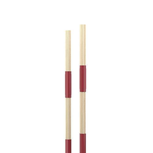 Promark Hot Rods | Unsere beliebtesten Rods | Perfekt für Akustik Auftritte | Reduzierte Lautstärke | Weicherer Klang auf Fellen und Becken