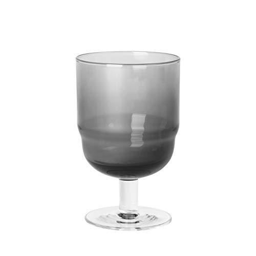 broste Copenhagen 14496211 Nordic Bistro Rotweinglas Smoke 0,25l (1 Stück)