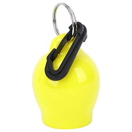 Omabeta Práctica cubierta para boquilla para regulador de inmersión para equipo de buceo (amarillo).