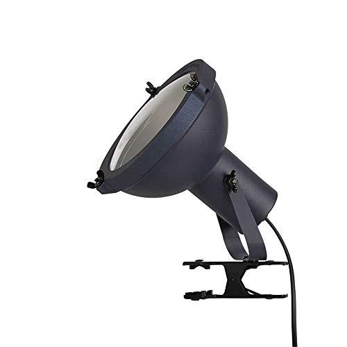 nemo lampada Nemo Lighting Projecteur 165 lampada da tavolo con pinza blu notte
